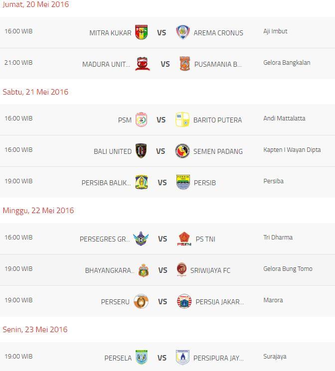 Siaran Langsung & Jadwal Torabika Soccer Championship Pekan ke 4 | Info Olahraga