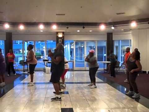 Turbo Hustle Line Dance. I just recently learned this one in my hustle dance class, so fun!