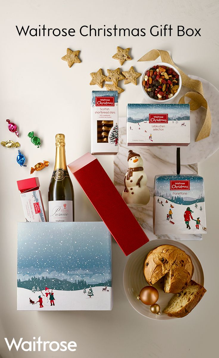 23 best christmas hampers 2017 waitrose images on pinterest this fun filled gift box is packed with the flavours of christmas from chocolate solutioingenieria