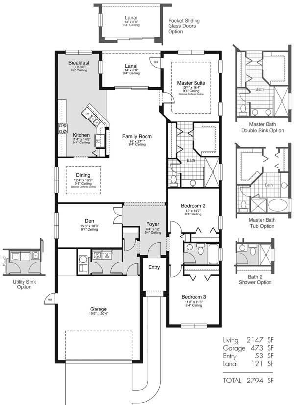 97 best ranch home plans images on pinterest ranch house for Best selling floor plans