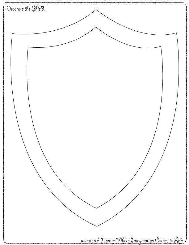 Decorate the Shield ~ Knights & Castles - Knight Printout ~ Knight Printable ~ Knight Theme ~ Knights Coloring Pages ~ Drawing - Writing - Stories - Knight Story Rocks Knight Activities ~ Knights Preschool ~ Knight Kindergarten - First Grade - Second Grade - Third Grade - Writing Prompts - Sentence Starters - Story Prompts - Story Maps - www.crekid.com - Where Creativity & Imagination come to Life