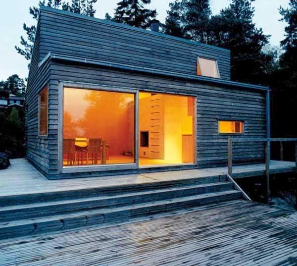 Plano de caba a prefabricada de 35m2 woody 35 marisol - Empresa de casas prefabricadas ...