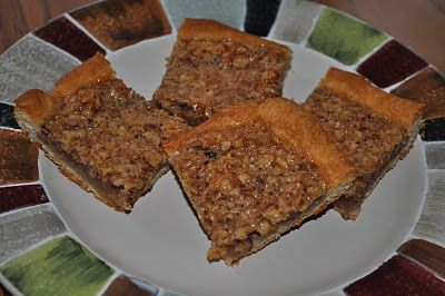 Quick Crescent Pecan Pie Bars | Desserts | Pinterest