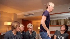 Riker Anthony Lynch. The boy loves his Nsync and I love him.