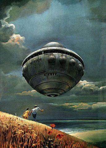 UFOLibraries Book, Illustration, Scifi, Science Fiction, Book Covers, Ufo, Bruce Pennington, Sci Fi, Covers Art