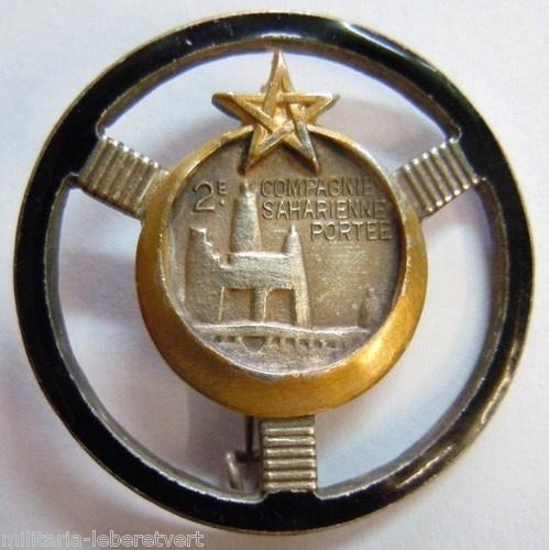Sahara Sahara Range Company 2 1939 WWII insignia Drago Beranger original