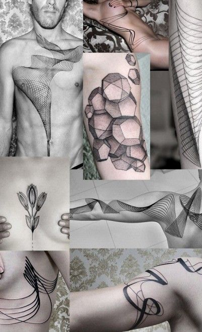 Tatuaggi d'autore: dall'arte astratta alla miniatura