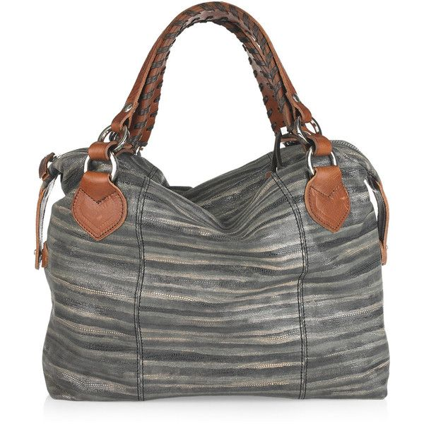 Pauric Sweeney Gloss-print leather tote and other apparel, accessories and trends. Browse and shop 21 related looks.
