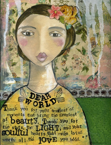 Another great Kelly Rae Roberts print!#Repin By:Pinterest++ for iPad#