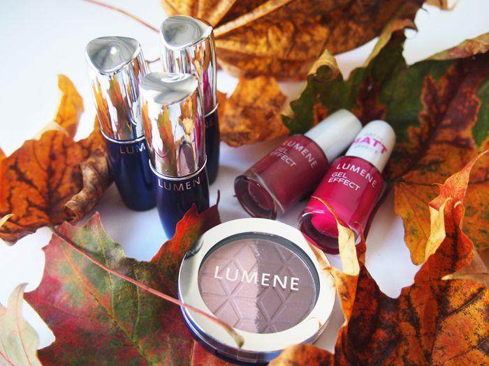 Lumene fall trend collection by beauty blogger Purkkimafia. #makeup #lumene