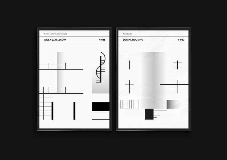 Modern House | Poster Collection on Behance