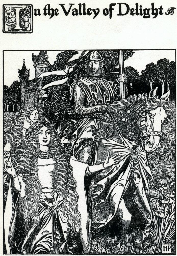 Howard Pyle - The Story of King Arthur and His Knights - 1903
