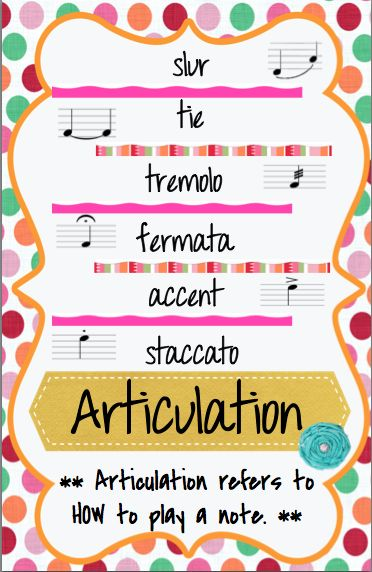 anchor charts for musical concepts like articulation, pitch, mood, timbre, etc.