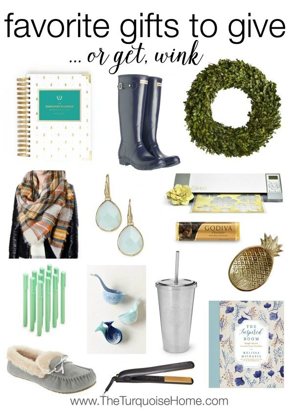 My Favorite Gifts to Give (... or get, wink!) | The Turquoise Home