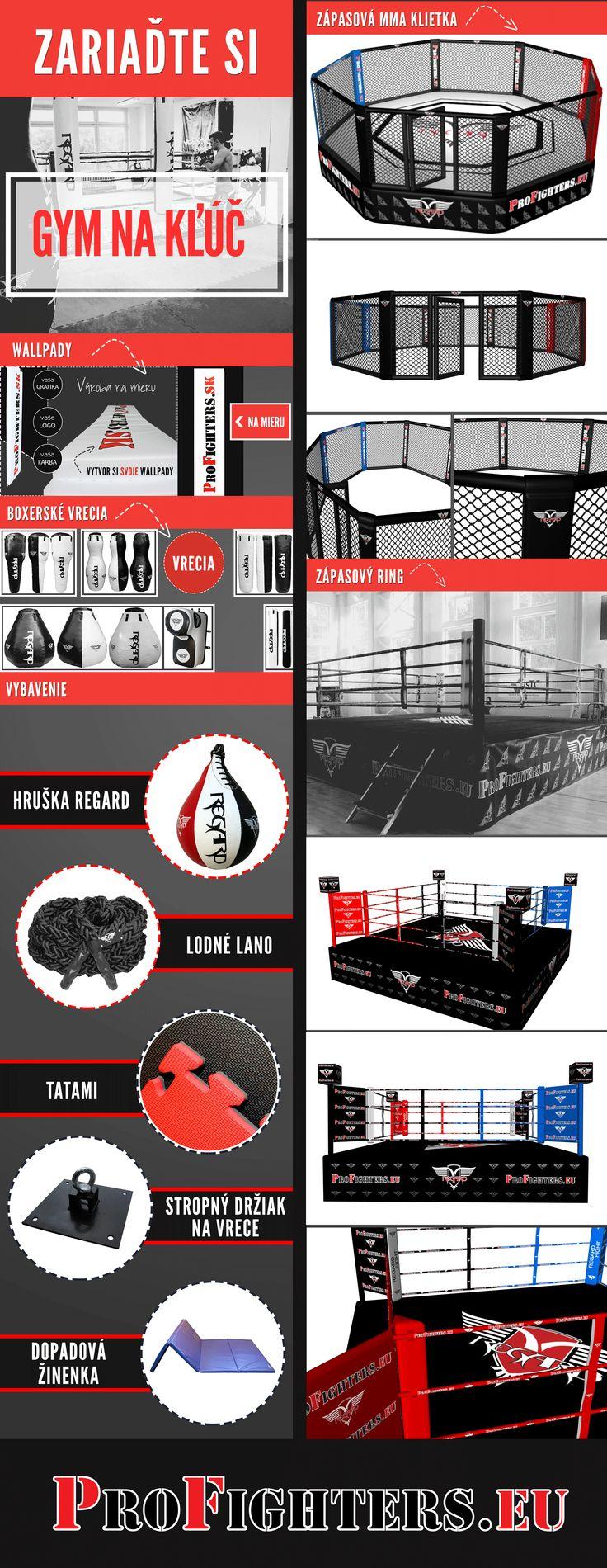 Zariadíme gym na kľúč!  www.profighters.eu