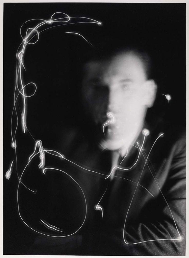 """Space Writing"" Marcel Duchamp, 1937.  MAN RAY"
