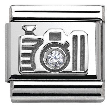 Nomination Silver Camera Charm | Argento.co.uk