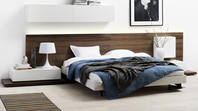 Bo concept tete de lit bois conteporaine