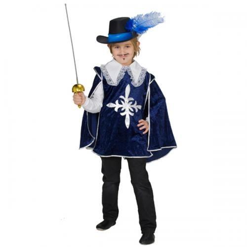 Musketier kostuum kind