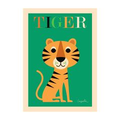 Poster . Tiger - This Modern Life