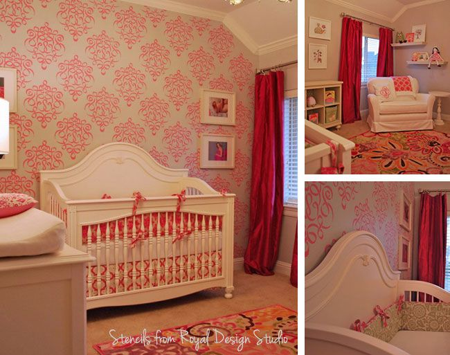 51 best color crush pink girl s rooms and nurseries images on