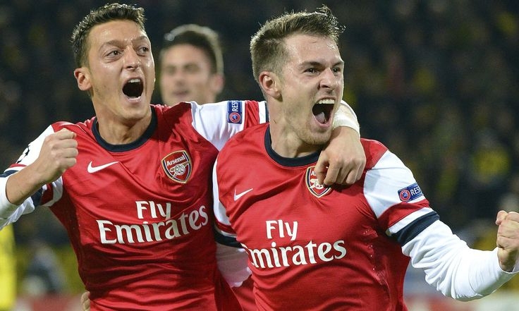 Gunners whip Watford; Ramsey back to scoring ways