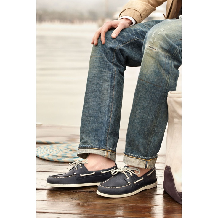 Sperry Top Sider Boat Shoes Blue