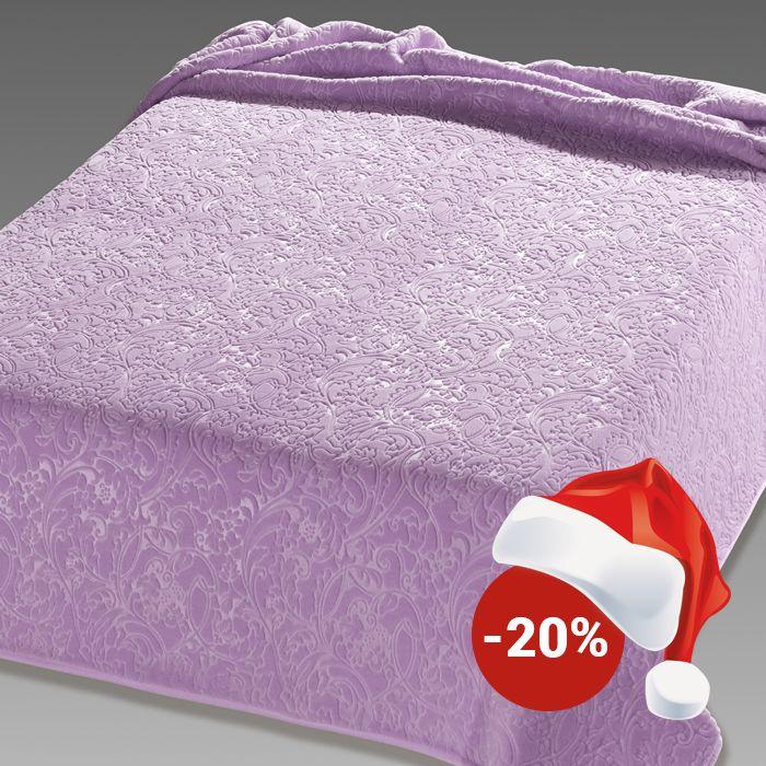 Pătură de pat double Belpla Ster 515 Lila