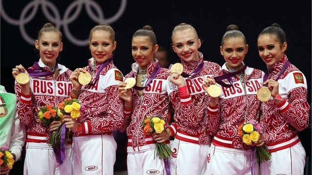 Russia take Group gold - London 2012 Olympics