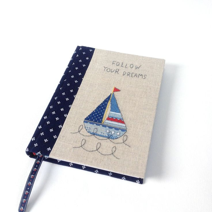 "Hardcover notebook ""Follow your dreams"""