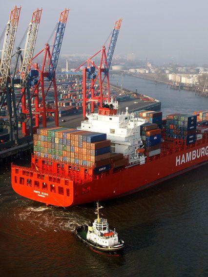 Hamburg Hafen und das fernweh packt den cäptn