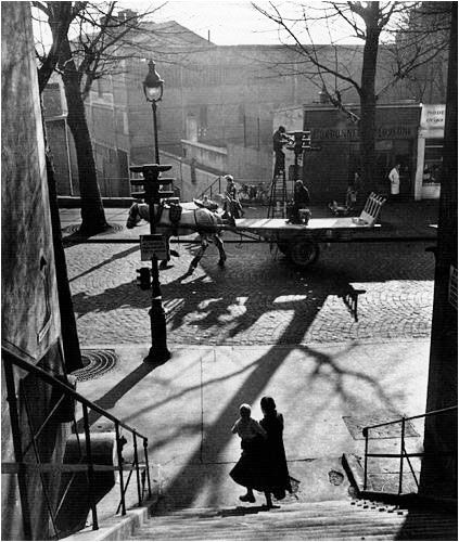 Willy RONIS :: Avenue Simon Bolivar, Paris, 1949