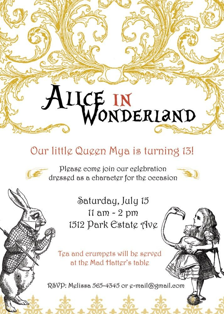 299 best Alice party images on Pinterest | Alice, Banners and Clip art