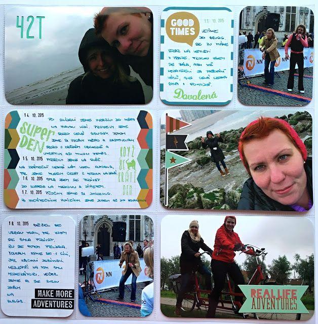 Project life 2015 - 42. týden | RadkArt