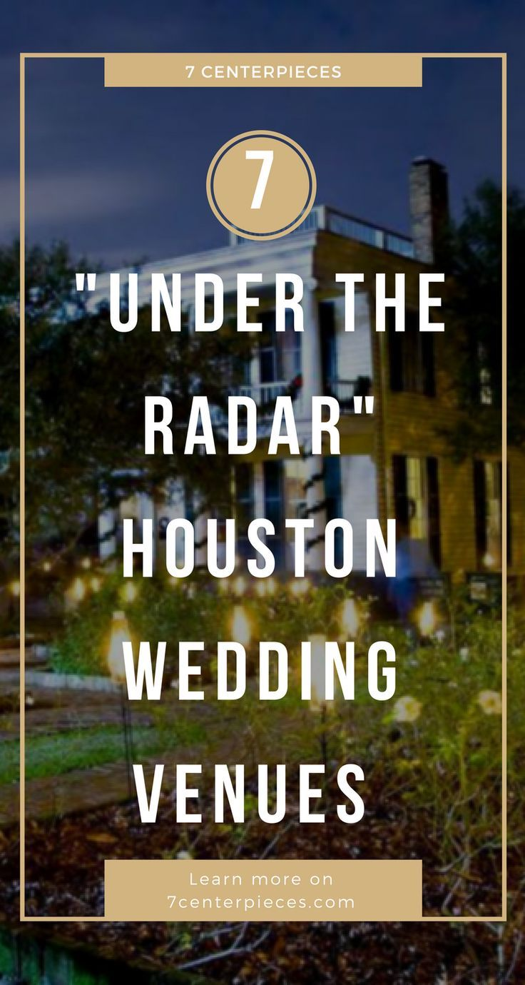 Houston wedding venues you won't find on typical venue directories are hard to come by! I thought I knew about every venue to hold my Houston wedding reception but this article contained HIDDEN GEMS! If you're looking for a unique venue in Houston, don't wait--PIN IT NOW! #houston #weddingvenue