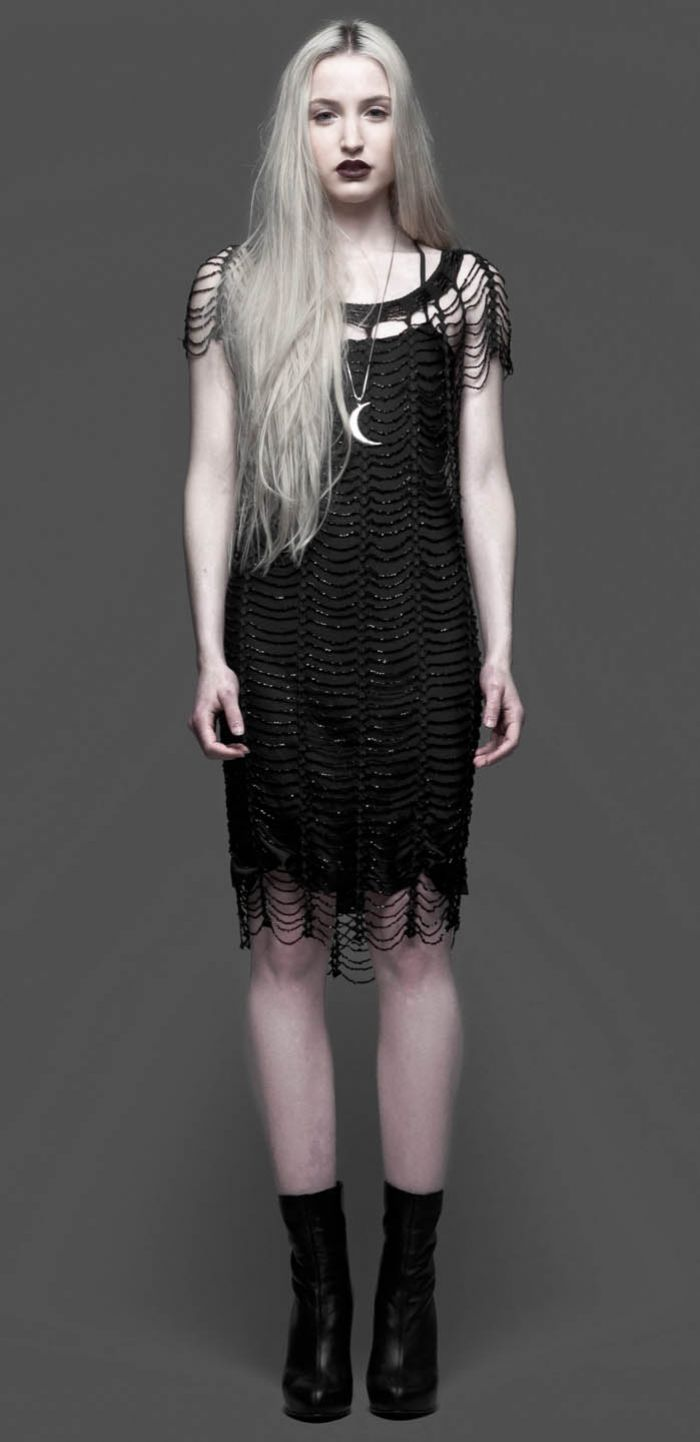 Speakeasy dress. Could be reverse-engineered into a crochet dress!