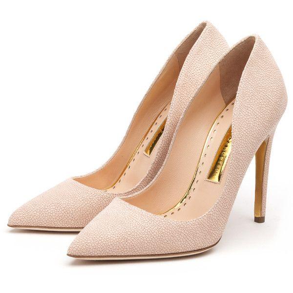Rupert Sanderson High Heel Pumps (5 410 SEK) ❤ liked on Polyvore featuring shoes, pumps, heels, chaussures, sapatos, high heel shoes, rupert sanderson pumps, heel pump, rupert sanderson and rupert sanderson shoes