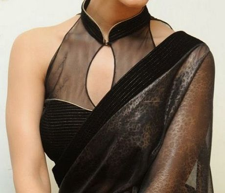 Get Halter neck Indian Blouses - easily from MyLifeNStyle, for details please visit our website..