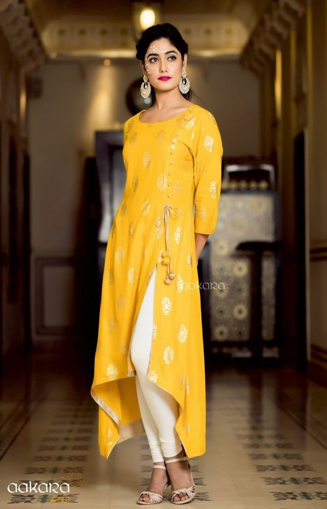 ce67f4039ea7b Indian Bollywood Designer indo western gown Kurta Kurti women ethnic dress  -su23 #Handmade #SalwarKameez #partywear