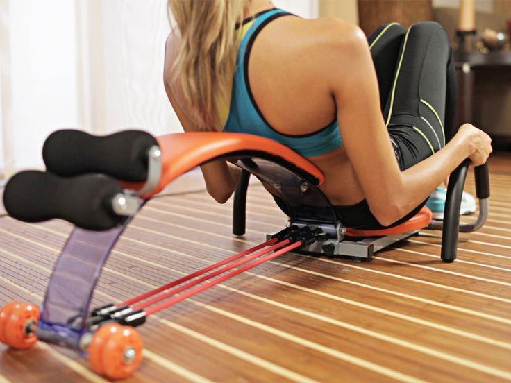 Ľahký a kompaktný posilňovací prístroj, ktorý sa zameriava na posilňovanie brušného svalstva s inovačnou technológiu