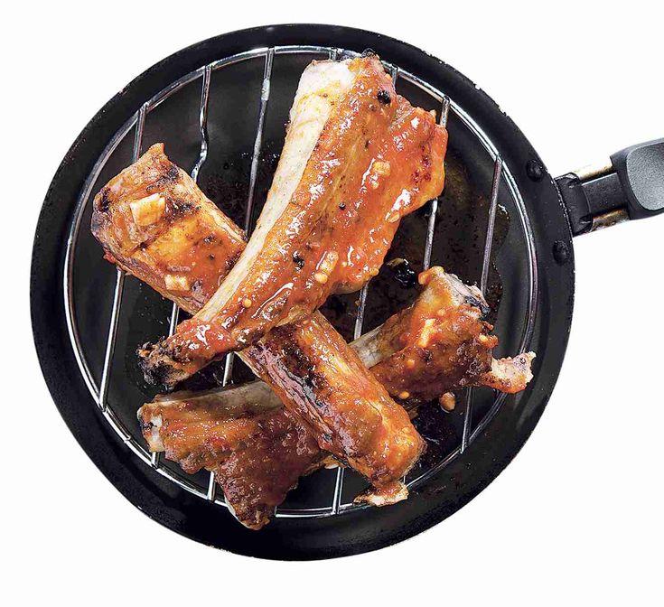 Ingredience: vepřová žebra 2 kilogramy, sůl, olej slunečnicový (na potření…