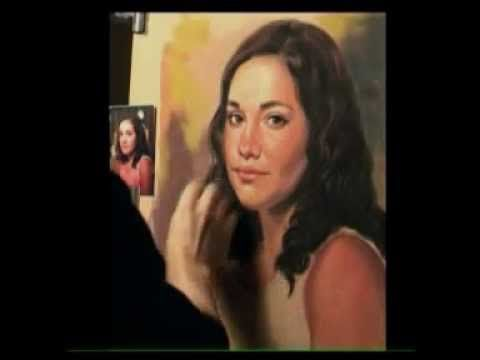 Pastel portrait by Gerard Mineo - YouTube