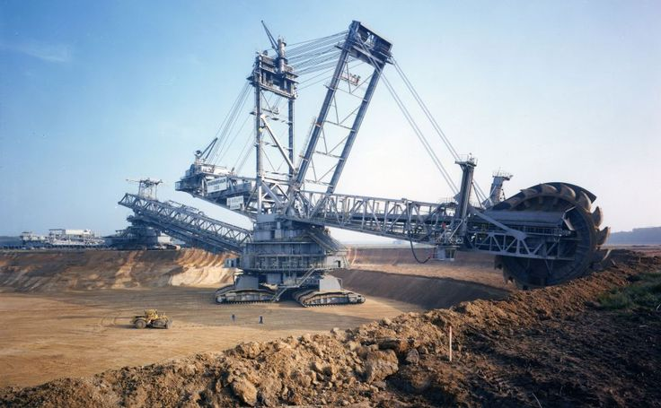 Bagger 288 excavator HD Wallpaper