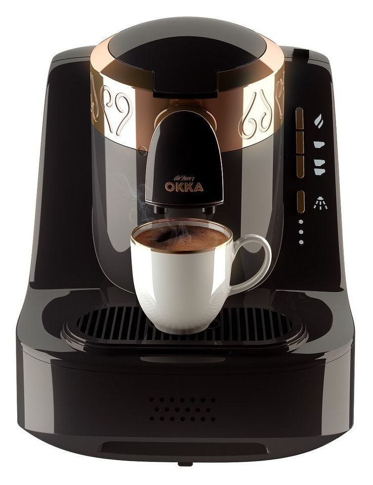 Arzum Okka - Turkish Coffee Maker Automatic - Black & Copper
