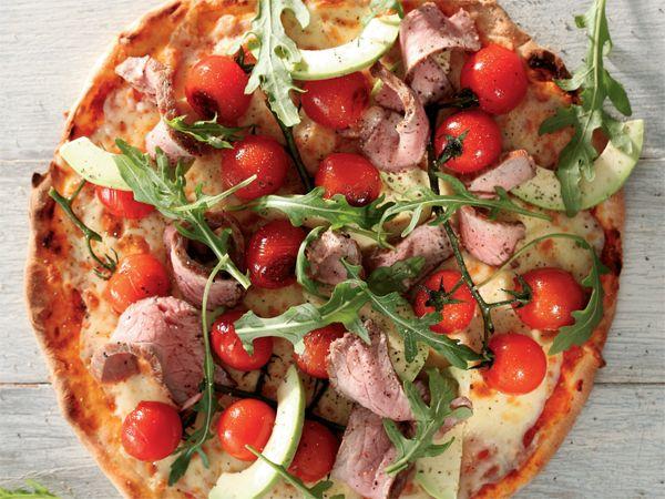 Uit die Huisgenoot kombuis: Steak-en-avokado-pizza