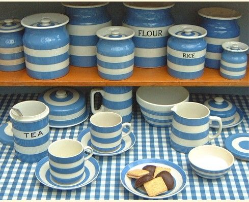 Cornish Kitchenware the signature design from T G Green has long been au2026 & 41 best TG Green Kitchenware: Cornishware u0026 Domino images on ...