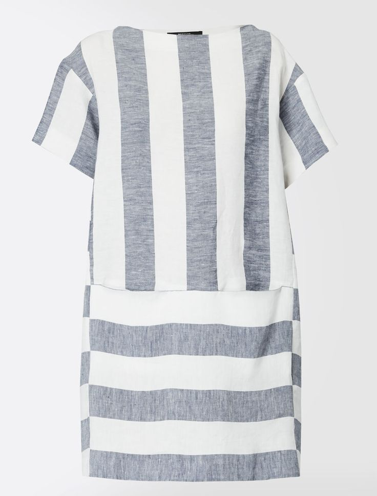 Abito in lino maxi stripes Weekend Maxmara