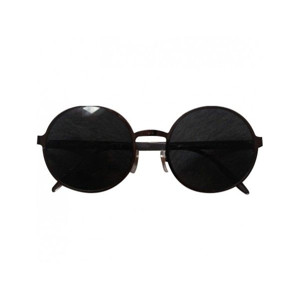 Pre-owned VERSACE GLASSES (850 VEF) ❤ liked on Polyvore featuring accessories, eyewear, sunglasses, glasses, fillers, black glasses, versace sunglasses, versace, black sunglasses and versace eyewear