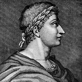 Publius Ovidius Naso, better known to modern people as Ovid was a Roman poet who lived in the early years of the Roman Empire. Most of Ovid's poems had romantic/erotic themes