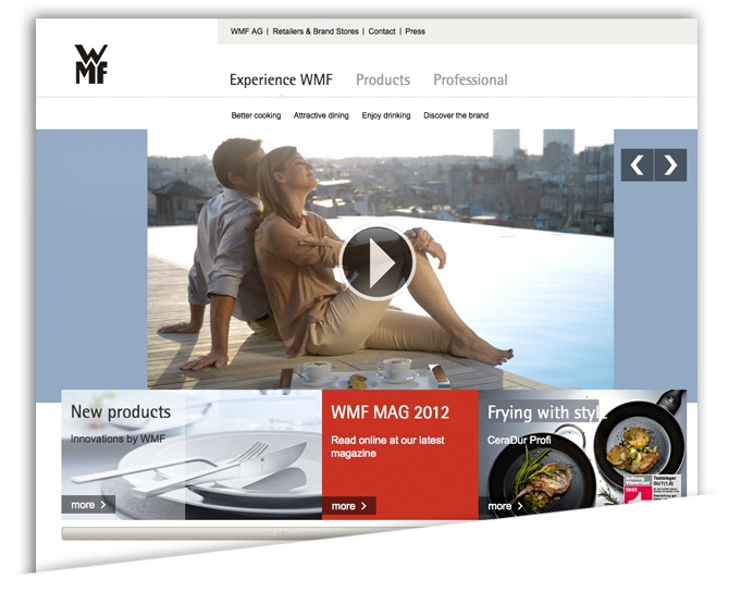 German Retailer WMF Gets Cooking with Magento